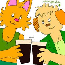 I'll Drink to That! by BunnzieBungo
