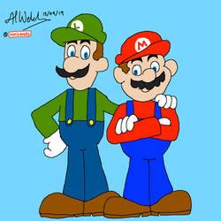 Fan Art Friday - Mario and Luigi