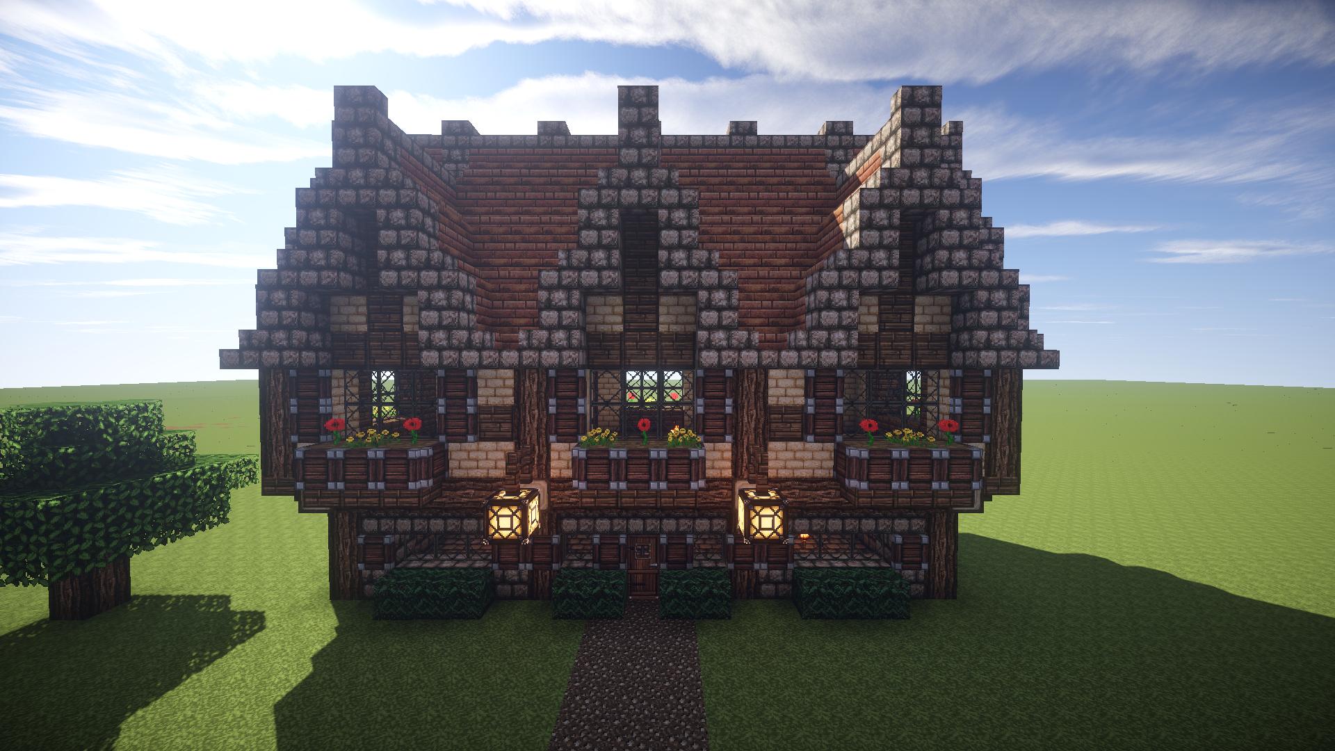 Minecraft Medieval House 1 By Daggytee On Deviantart