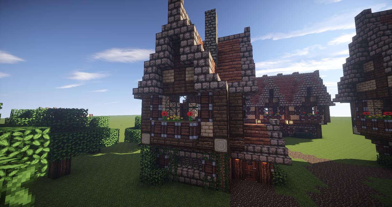 Minecraft Medieval House 2 By Daggytee On Deviantart