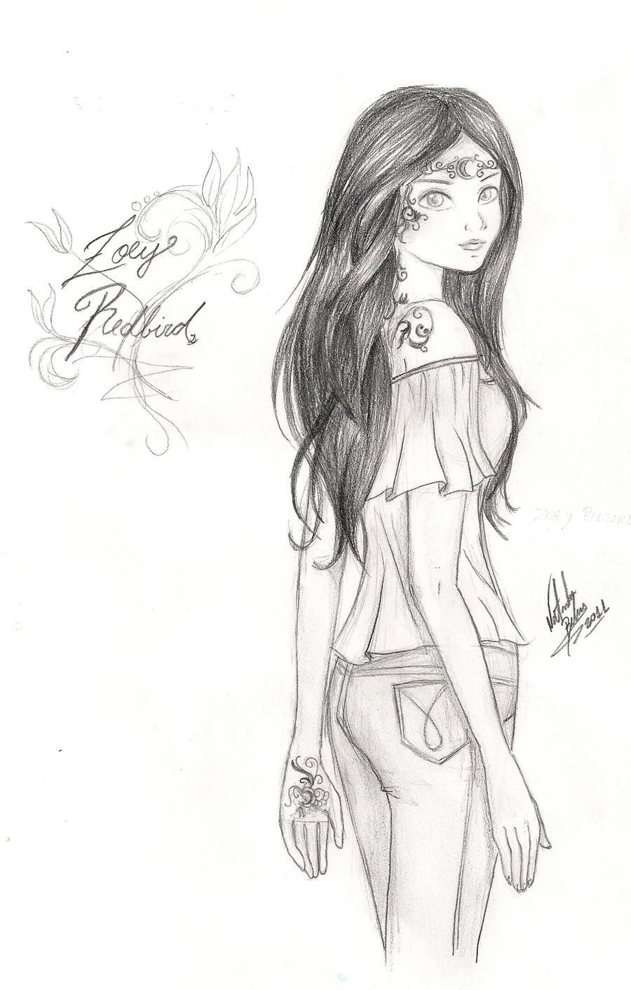 Zoey Redbird - House Of Night by NatBelus