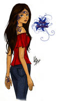 Zoey Redbird - colored