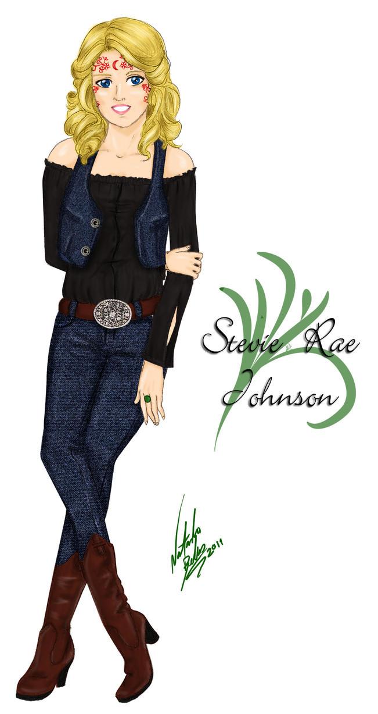 Stevie Rae Johnson - colored by NatBelus