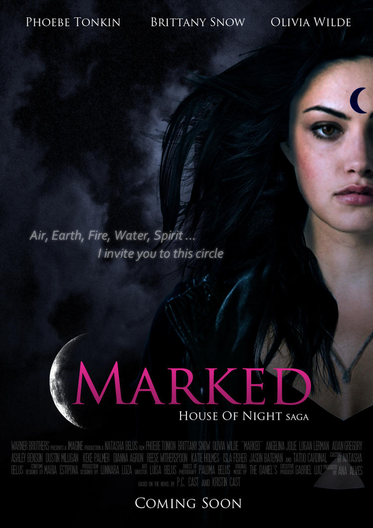 Marked movie poster by natbelus on deviantart for Housse of night