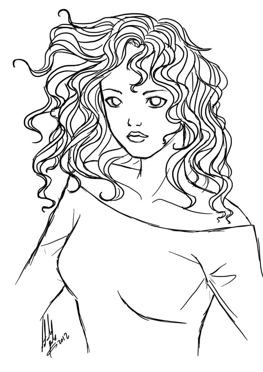 Only A Digital Sketch By Natbelus On Deviantart