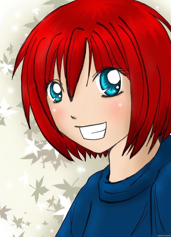 Redhead by Aokawazu