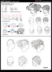 Hair tutorial by Cushart
