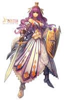 Knight-female by Cushart