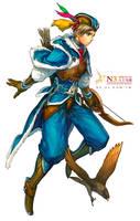 Hunter-male by Cushart