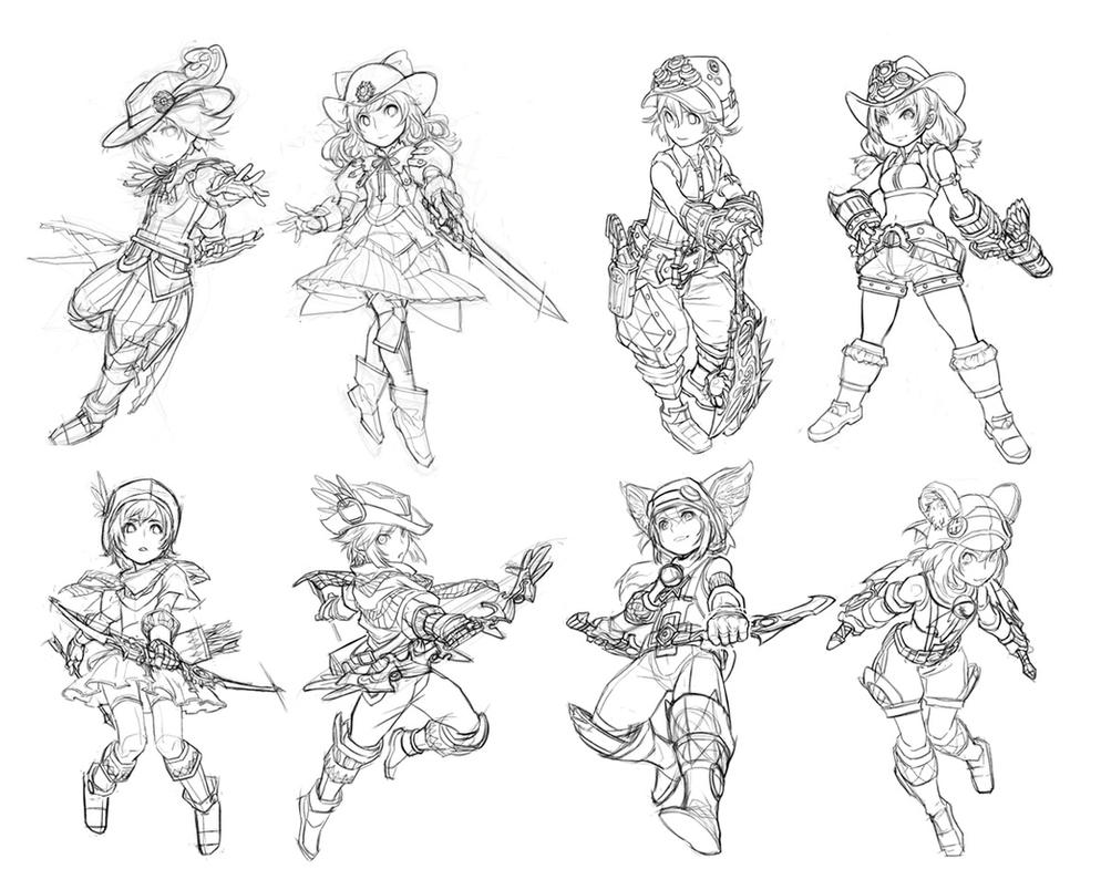 Line Drawing Artist Research : Lineart by cushart on deviantart