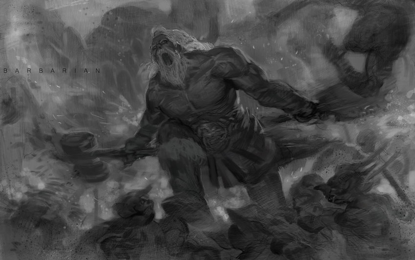 barbarian by Cushart