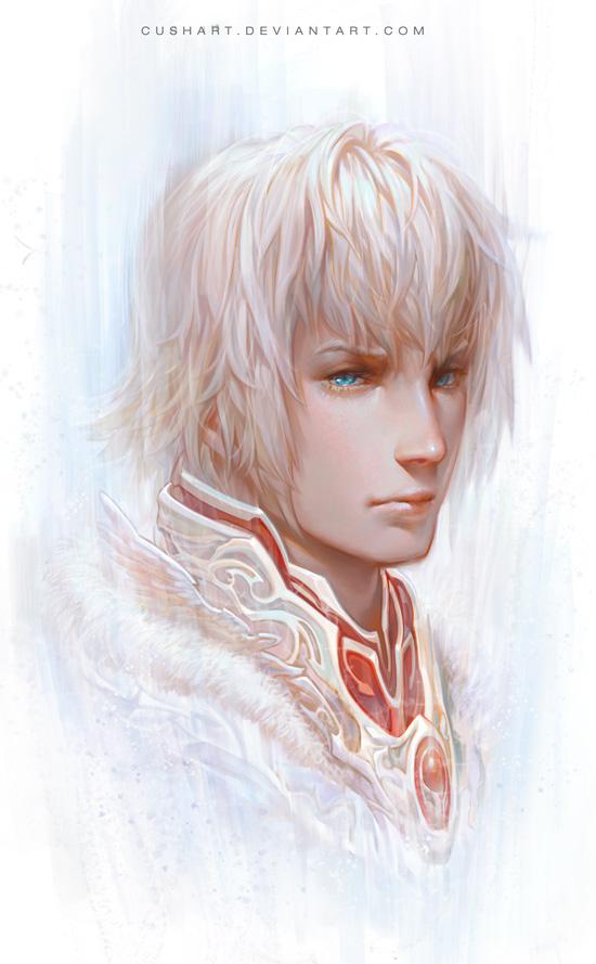 Portrait by Cushart