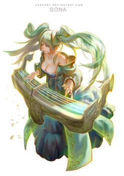 league of legends- Sona