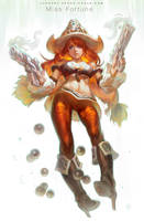 League Of Legends - Missfortune by Cushart
