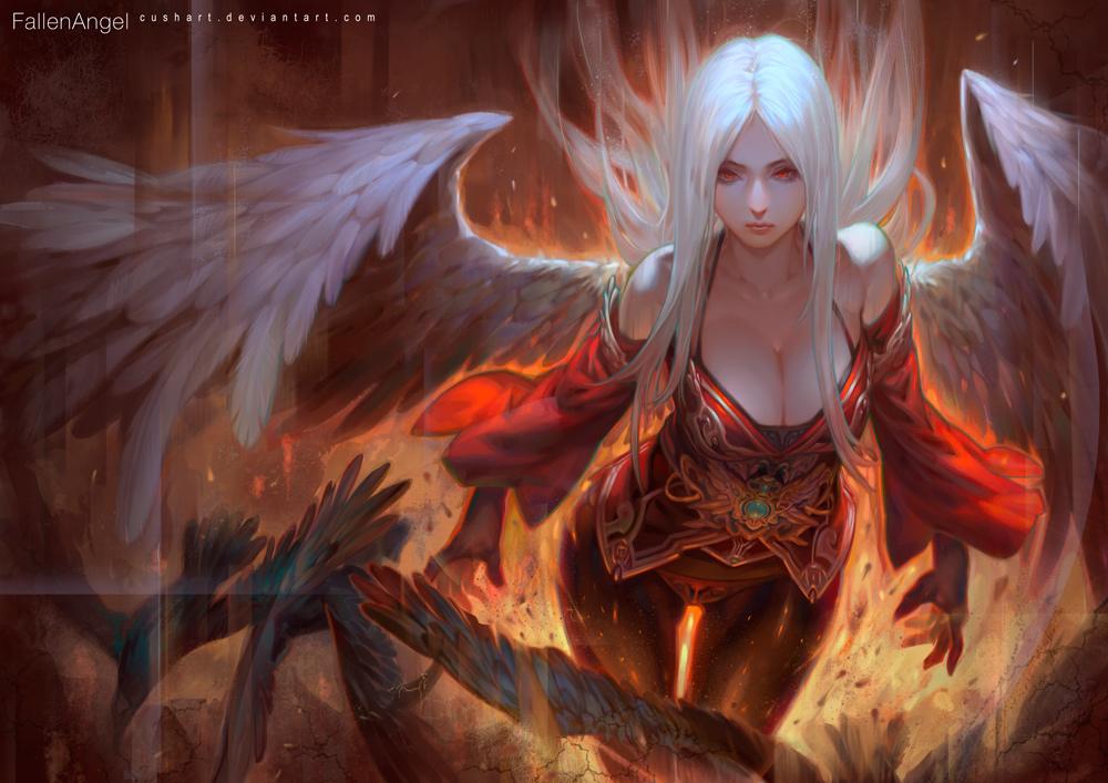 FallenAngel by Cushart