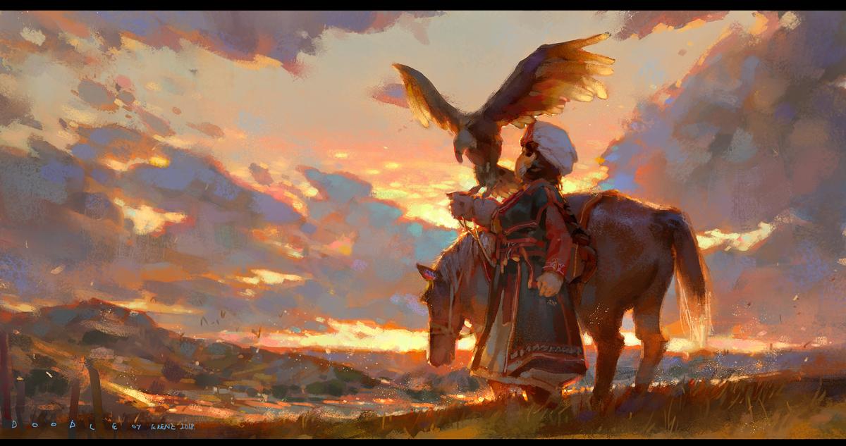 eagle by Cushart