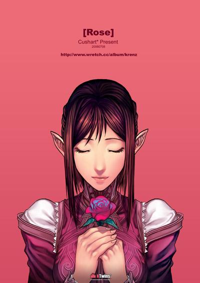 Rose by Cushart