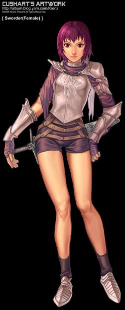 Sworder by Cushart