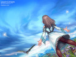 SkyGrass by Cushart