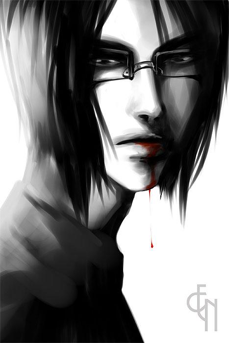 Bleach. Ishida Uryuu by Eneada