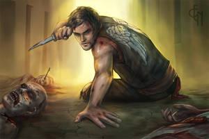 Daryl Dixon by Eneada