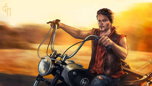 Daryl Dixon - Highway to Hell