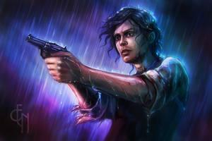 Spencer Reid by Eneada