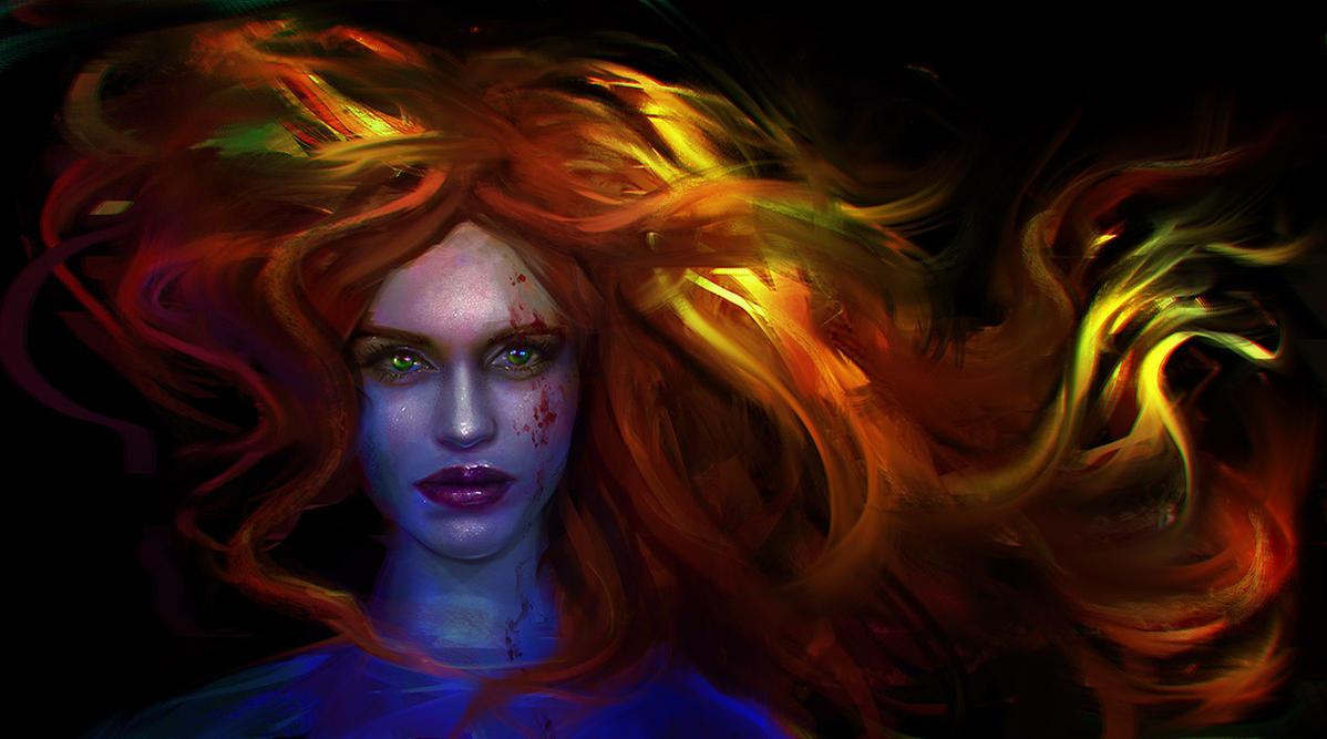 Lydia Martin by Eneada