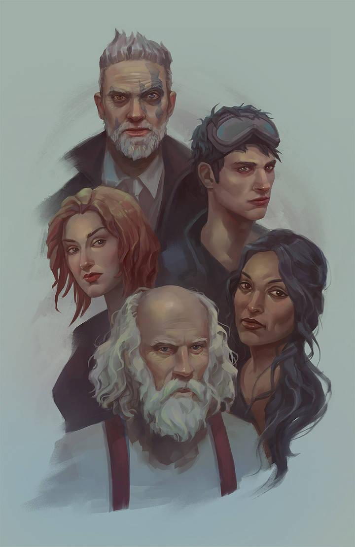 Znation portraits by Eneada