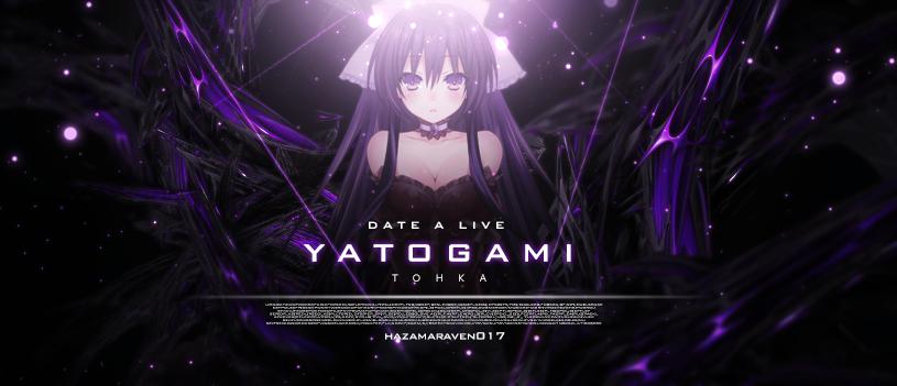 Date A Live - Yatogami Tohka by HazamaRaven017