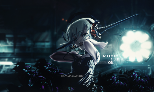 Music Turn On by HazamaRaven017