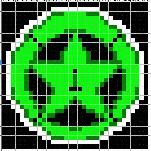 Achievement Hunter Logo Minecraft Template by Ag3ntMa1n3 on DeviantArt