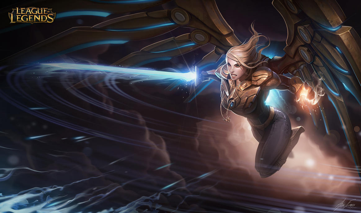 AetherWingKayle by AlexFlores