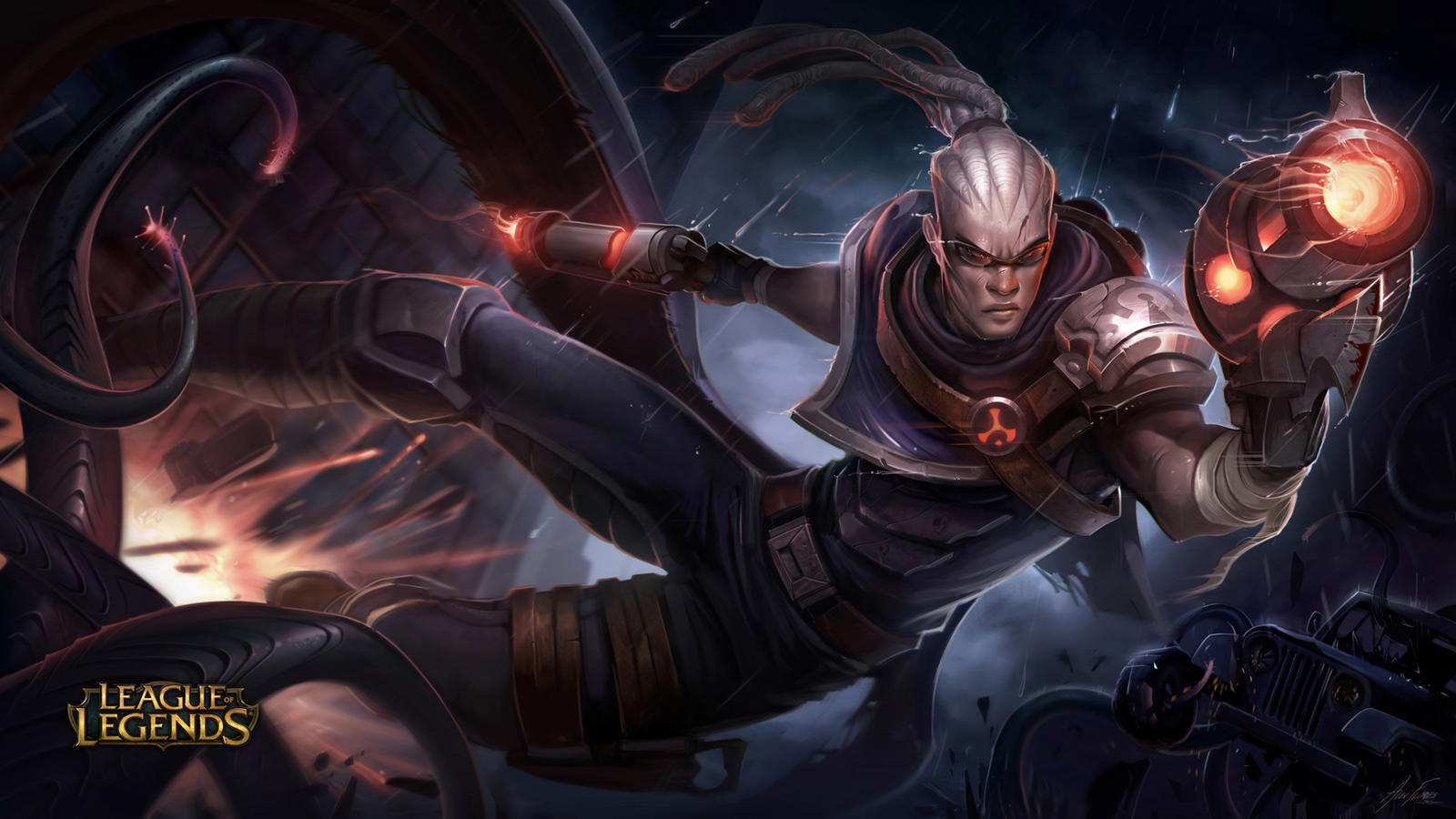 Hired Gun Lucian by AlexFlores on DeviantArt