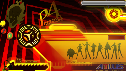 Persona 4 PSP backdrop by LukeLlenroc