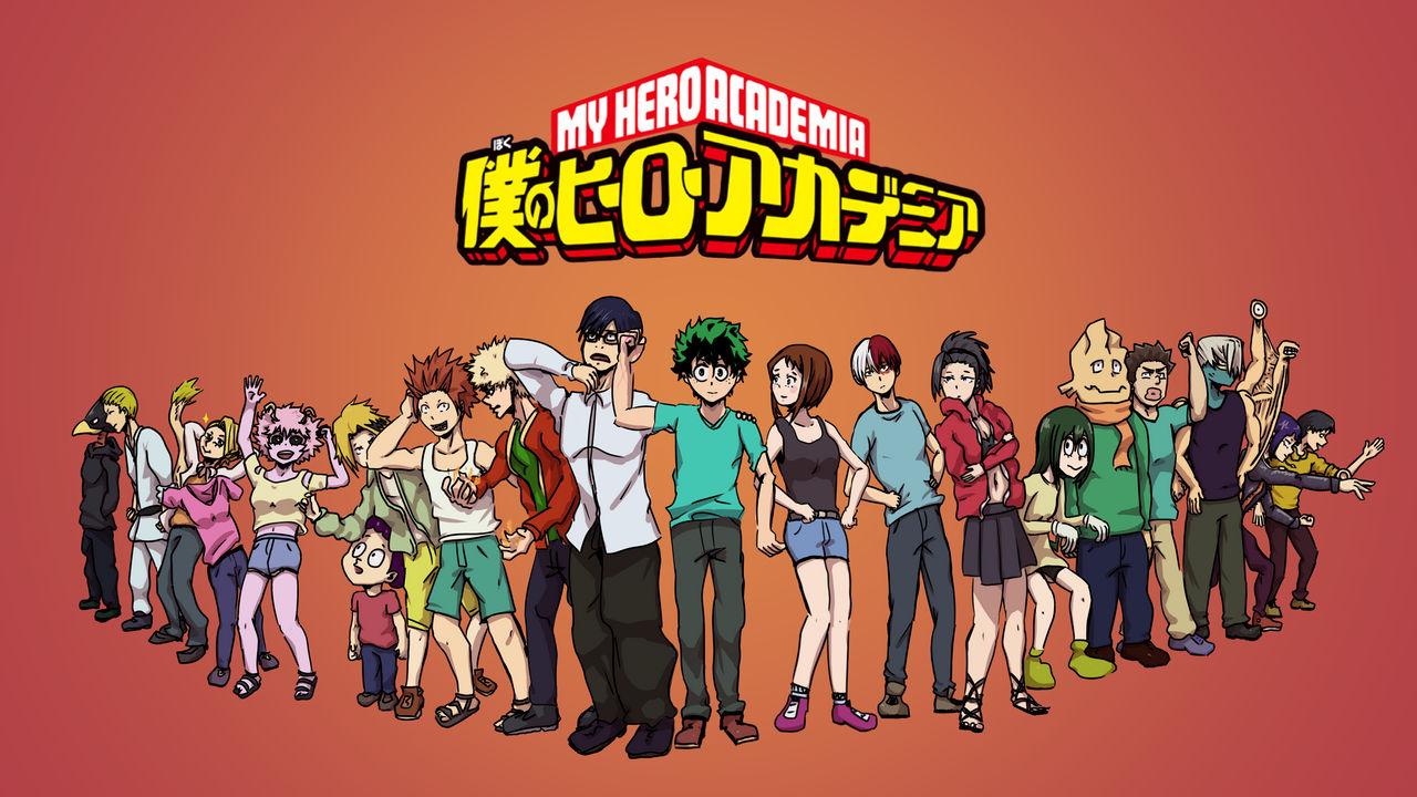 My Hero Academia Class 1 A Wallpaper 4k By Th0rrrrr On