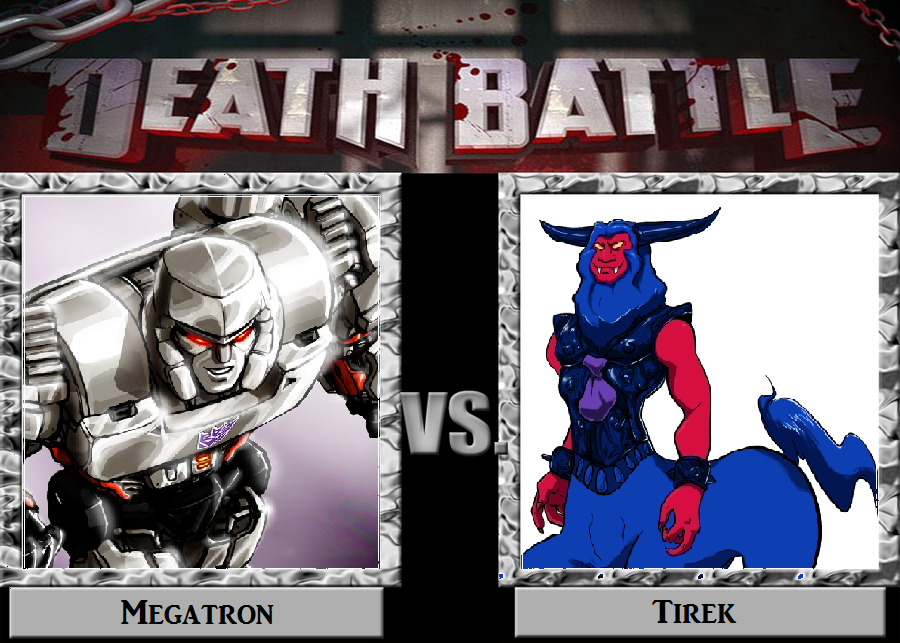 dark megatron death battle idea megatron vs tirek by dark carioca on deviantart