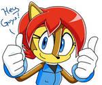 Sonic X SEGA Sally