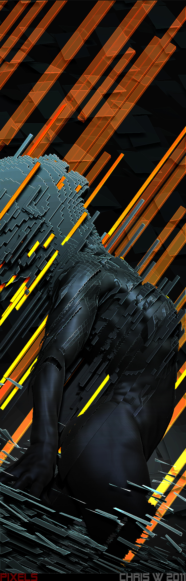 Pixels -Series 1- by WaveofLag