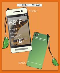 uSolar - Christine's phone by GoldenSnowfire