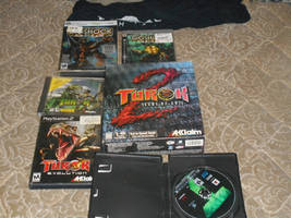 my turok and bioshcok collection for ps2 and 3 pc