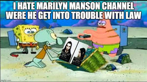 patrick hates marilyn manson channel for cable tv!