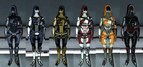 Tali - Completed Armor List