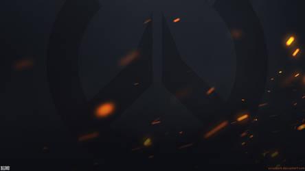 Overwatch Fire Wallpaper 1920x1080 (1080p)
