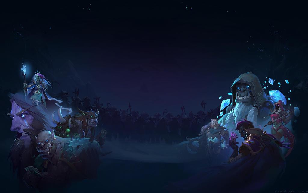 Knights of the Frozen Throne - Night 1920x1200 by Sirusdark