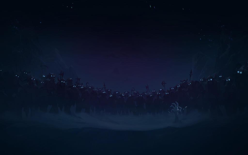 YouTube Request Frozen Throne Night Eyes 1920x1200 by Sirusdark