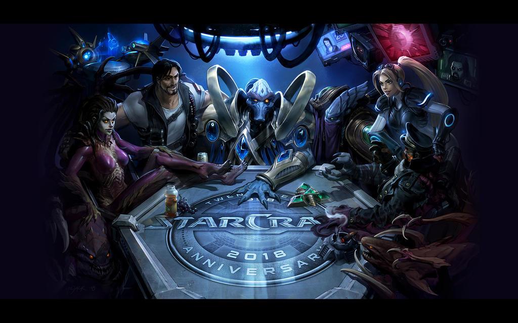 StarCraft II 20th Full Wallpaper - 1920x1200
