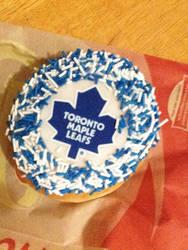 Tim Hortons: Toronto Maple Leafs Donut