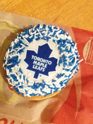 Tim Hortons: Toronto Maple Leafs Donut by thatonesmurfX103-9