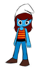 Anna Smurfling NEW OC reference